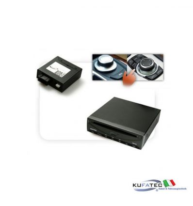 DVD Player Ampire DVX200i + Multimedia Adapter MOST - con OEM Control - BMW Navigation CCC/CIC