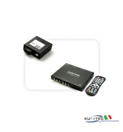 Ampire DVBT400-HD + Multimedia Adapter MOST - senza OEM Control - BMW Navigation CCC/CIC