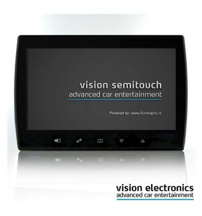 Vision Semitouch - Rear Seat Entertainment - Mercedes C Class W204, GLK Class X204