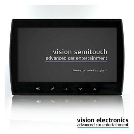 Vision Semitouch - Rear Seat Entertainment - Mercedes C Class W204, GLK Class X204
