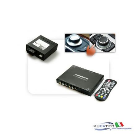 Ampire DVBT400-HD + Multimedia Adapter MOST - con OEM Control - BMW Navigation CCC/CIC