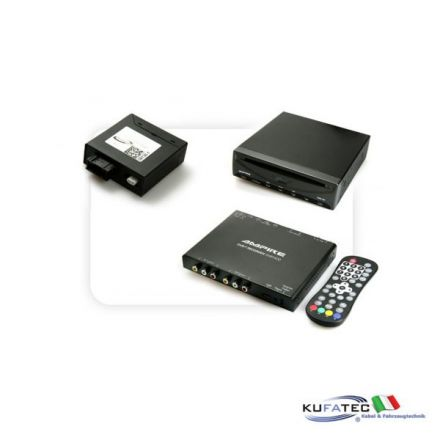 DVD Player Ampire DVX200i + Ampire DVBT400-HD + Multimedia Adapter MOST - con OEM Control - BMW Navigation CCC/CIC
