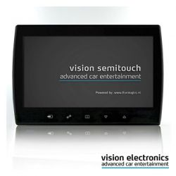 Vision Semitouch - Rear Seat Entertainment - Mercedes ML Class W164, GL Class X164, R Class W251