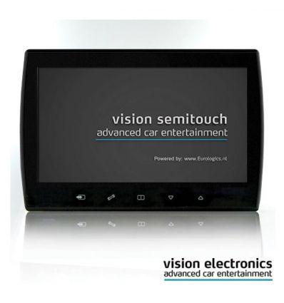 Vision Semitouch - Rear Seat Entertainment - Nissan Qashqai 2010 / Nissan Qashqai+2 2010