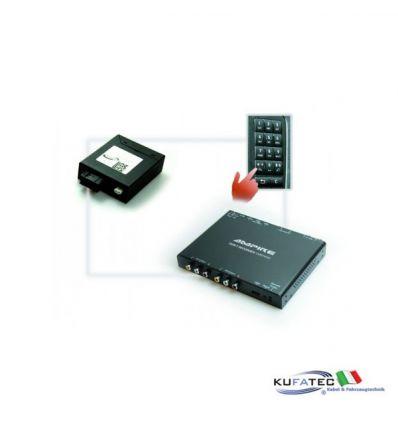 DVBT400 + Multimedia Adapter - w/ OEM Control - Mercedes