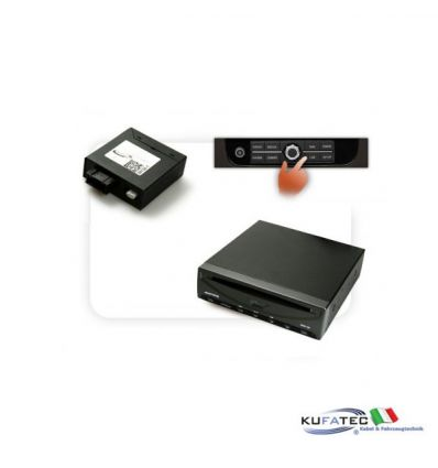 DVBT400 + Multimedia Adapter - w/ OEM Control - Mercedes