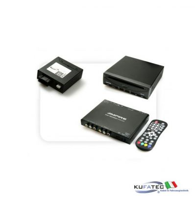 DVD Player USB SD + Ampire DVBT400-3G + Multimedia Adapter MOST - con OEM Control - Volkswagen RNS-850