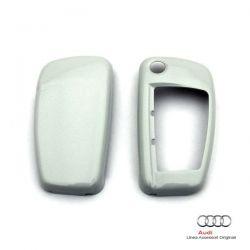 Cover chiave verniciata Bianco Ghiaccio metallizzato