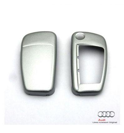 Cover chiave verniciata Argento Ghiaccio metallizzato