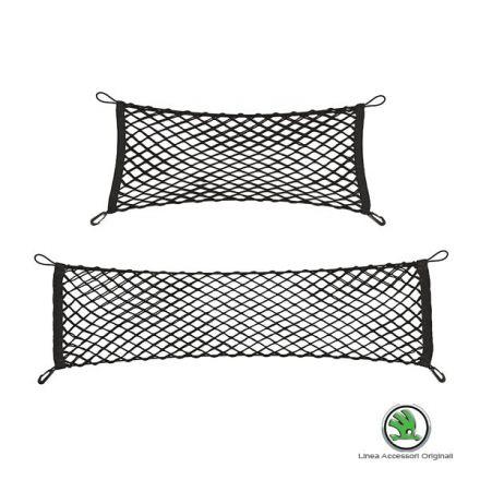 DMA720002 - Set di 2 reti fermabagagli verticali - Nuova Fabia Wagon