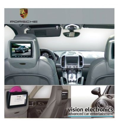 Vision Semitouch - Rear Seat Entertainment - Porsche Panamera G1