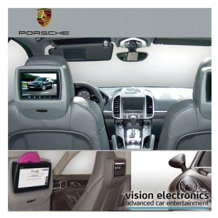 Vision Semitouch - Rear Seat Entertainment - Porsche Panamera G1