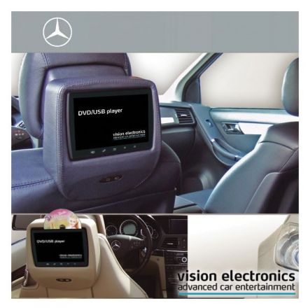 Vision Semitouch - Rear Seat Entertainment - Mercedes E Class W212, CLS Class W218