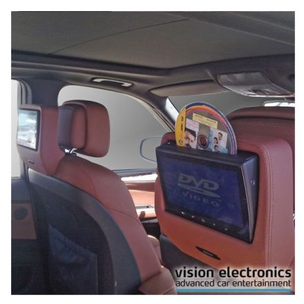Vision Semitouch - Rear Seat Entertainment - Bmw 5er E60/61, X5 E70, X6 E71