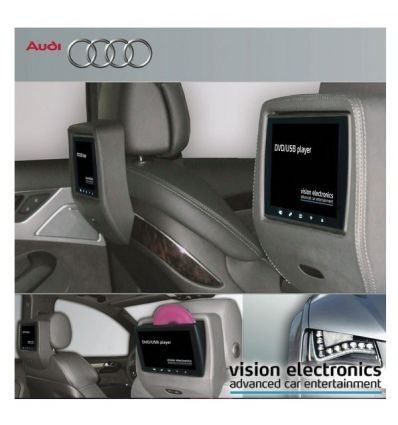 vision semitouch rear seat entertainment audi a8 4h. Black Bedroom Furniture Sets. Home Design Ideas