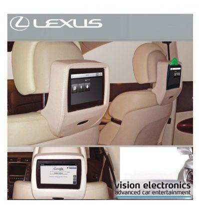 Vision Semitouch - Rear Seat Entertainment - Lexus RX 450h