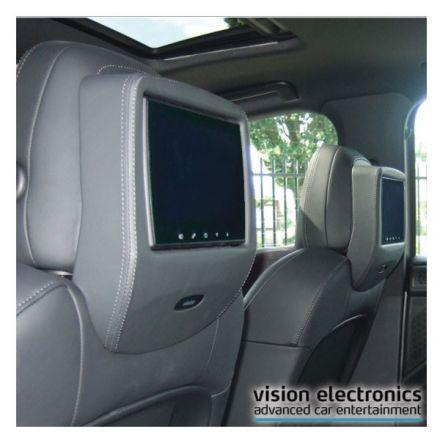 Vision Semitouch - Rear Seat Entertainment - Porsche Cayenne E2