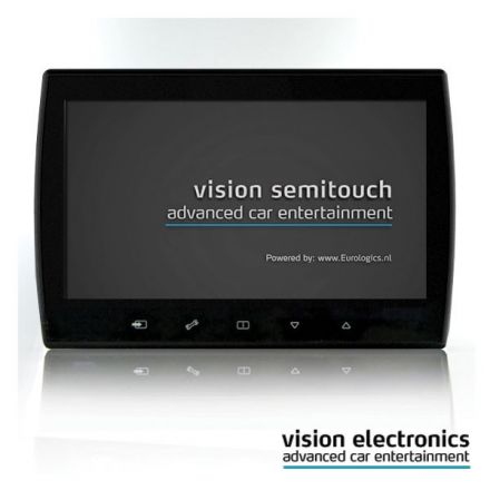 Vision Semitouch - Rear Seat Entertainment - Audi A6 4G Standard Seat, Sport Seat