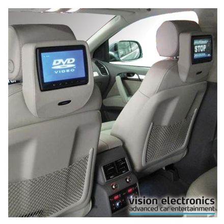Vision Semitouch - Rear Seat Entertainment - Audi A6 4F, Q7 4L con predisposizione RSE