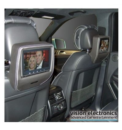 Vision Semitouch - Rear Seat Entertainment - Mercedes ML Class W166