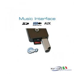 Digital Music Interface - USB/SD - Mini ISO - Audi/VW
