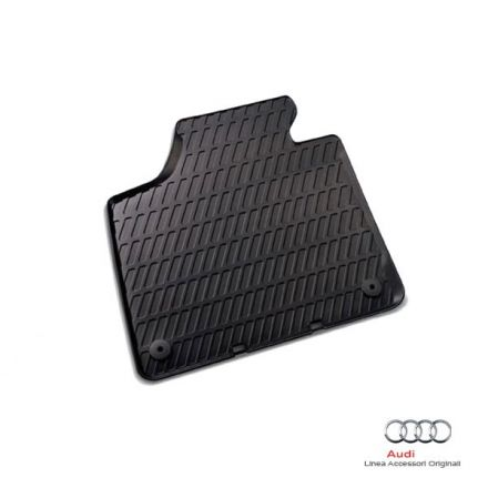 Tappetino anteriore in gomma nera - Audi A3 8P e 8PA