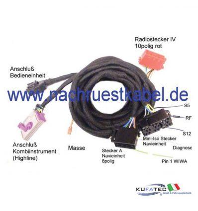 Kit connection cable Audi BNS.X per Audi A3 8P