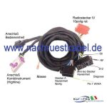 Kit connection cable Audi BNS.X per Audi A3 8P