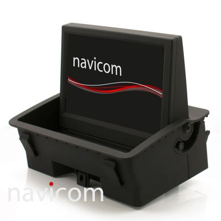 "Navicom NAV-R1-A1 touchscreen, Europa iGO PRIMO - Audi A1 8X w/ monitor 7"""