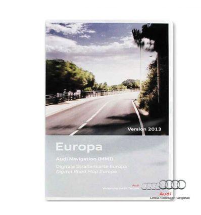 Cartografia DVD Europa 2015 - Audi MMI 2G High