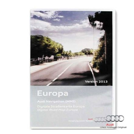 Cartografia DVD Europa 2015 - Audi MMI 2G High