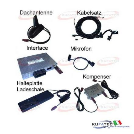 "Bluetooth Handsfree ""Complete"" - Retrofit - Audi A4 8E"