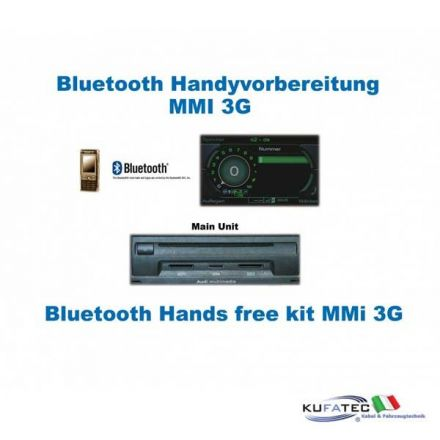 Upgrade Bluetooth interface Audi A8 4E - MMI 3G