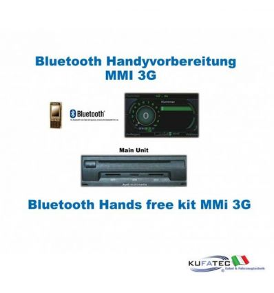 Upgrade Bluetooth interface Audi Q7 4L - MMI 3G