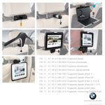 Supporto Apple iPad Air 1 e 2 - Sistema Travel & Comfort
