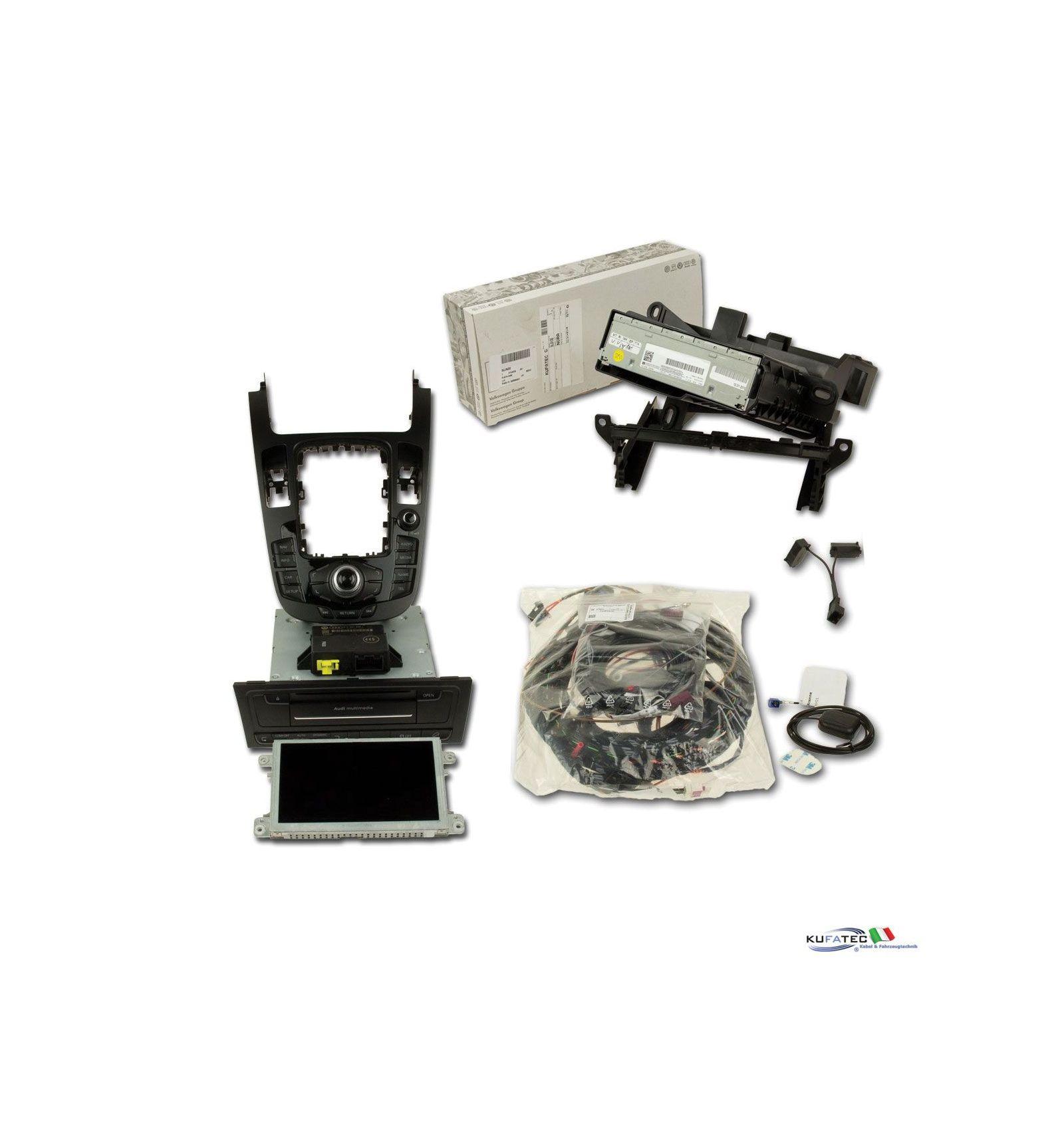 Audi Infotainment Mmi High 3g Incl Navigation Hdd Retrofit Audi Q5 8r Con Radio Chorus3
