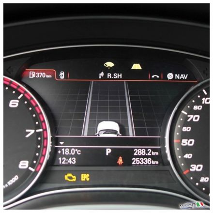 Active Lane Assist incl traffic sign recognition Audi A6, A7 4G
