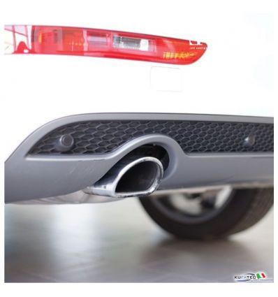 Griglia inferiore Posteriore con supporti sensore - Audi Q5 8R allestimento S-Line Exterior