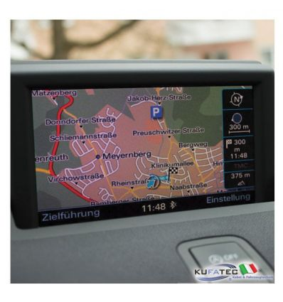 Activation Navigation function + Digital Road Map Europe 2016 - Audi RMC w/ navi prep.