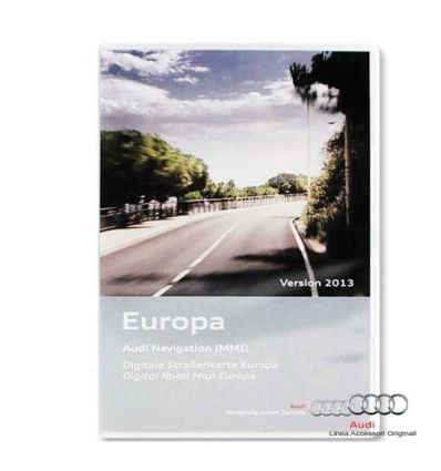 Cartografia DVD Europa 2016 - Audi MMI 2G High