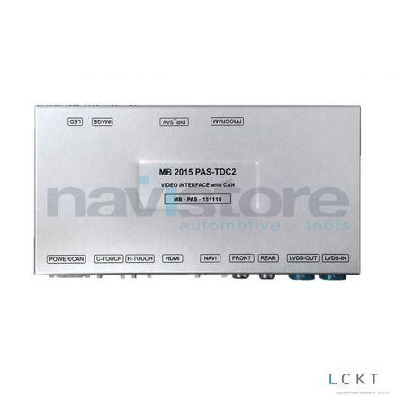 RVC Interface MB15 PAS-TDC2 - Mercedes Audio 20, NTG 5.0 / 5.1