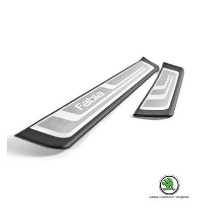 Battitacco in alluminio - Skoda Fabia e Fabia Wagon II
