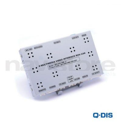 Video Interface QPI-AUD-CMD- Audi RMC, MMI 3G, MMI 3G+
