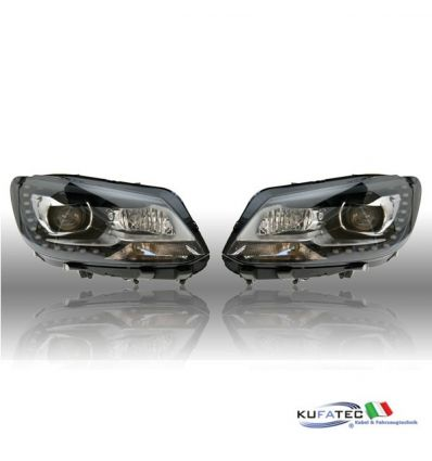 Bi-Xenon Headlights LED DTRL - VW Touran 2011