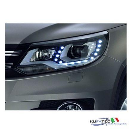 Bi-Xenon Headlights LED DTRL - Upgrade - VW Tiguan 2012 in avanti con DCC