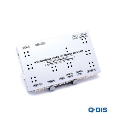 Video Interface QPI-LVTX - Fiat 500