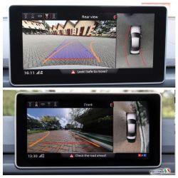 Surroundings camera - 4 Camera System - Audi A4 8W