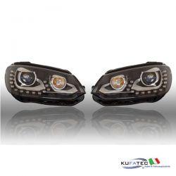 Bi-Xenon Headlights LED DTRL - VW EOS 2012