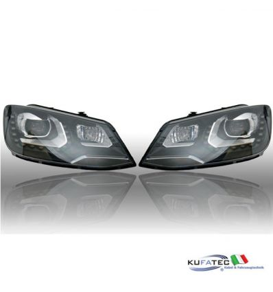 Bi-Xenon Headlights LED DTRL - VW Sharan 7N