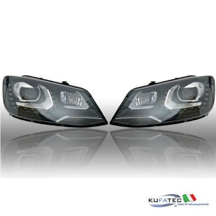 Bi-Xenon Headlights LED DTRL - VW Sharan 7N